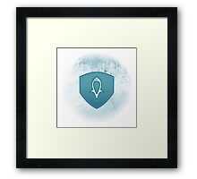 Guild Wars 2 Inspired Guardian logo Framed Print