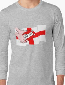 Rugby England Flag Long Sleeve T-Shirt