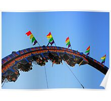 Upside Down, Inside  Out - Fair Rides Poster