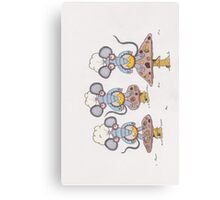 Robot Mice Canvas Print