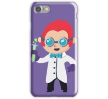 Cute Scientist iPhone Case/Skin