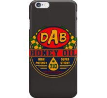 DAB Honey oil 710 iPhone Case/Skin