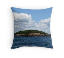 Lake Superior Afternoon ride - Marathon Ontario Canada Throw Pillow