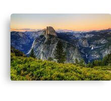 Twilight at Glacier Point Canvas Print