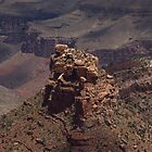 The rocks- Grand Canyon by Dian  Squire