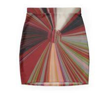 Variegated rust, grey & tan, black & white Mini Skirt