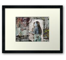 The thin line between Framed Print