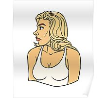 Emma Frost Casual Poster