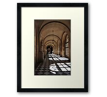 Walk with the Sun King Framed Print