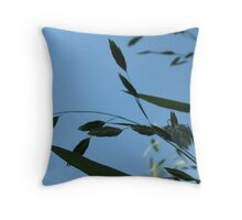 Leaf Breeze Throw Pillow