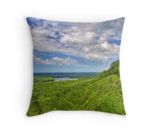 Upper Mississippi River National Wildlife And Fish Refuge Throw Pillow