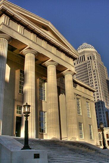 Louisville Court House by DevereauxPrints