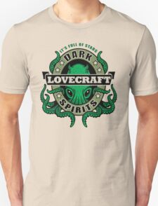 Lovecraft Dark Spirits - light print T-Shirt