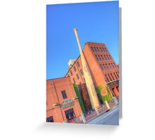 Louisville Slugger Museum Greeting Card