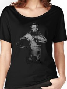Astronaut Abe Women's Relaxed Fit T-Shirt