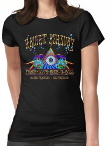Haight Ashbury Womens Fitted T-Shirt