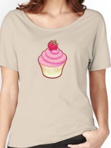Fluffy Cupcake Love Women's Relaxed Fit T-Shirt