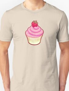 Fluffy Cupcake Love Unisex T-Shirt