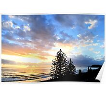 Dawn at Burleigh Poster