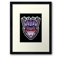 TFxGB - Evil Gozerian (Faction Head) G1 METAL Framed Print