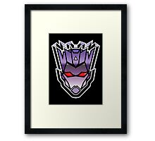 TFxGB - Evil Gozerian (Faction Head) G1 METAL Framed Print