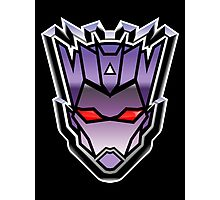 TFxGB - Evil Gozerian (Faction Head) G1 METAL Photographic Print