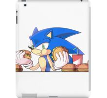 Hungry - Sonic the Hedgehog iPad Case/Skin