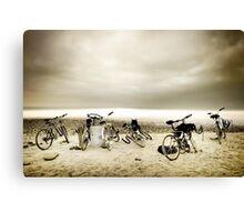 Beach Transportation Canvas Print