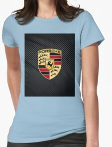 Stuttgart Carbon Fibre iPhone / Samsung Galaxy Case Womens Fitted T-Shirt