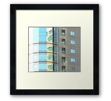 Boston Abstract - Boston, MA, USA Framed Print