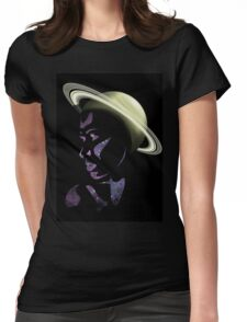 Saturn's Halo Womens Fitted T-Shirt