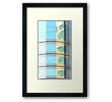Boston Abstract 2- Boston, MA, USA Framed Print