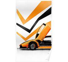 Orange Gallardo Poster