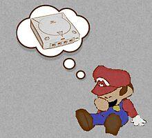 Mario Dreams of Dreamcast by Jschick