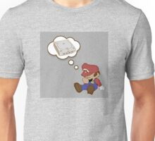Mario Dreams of Dreamcast Unisex T-Shirt