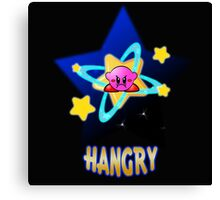 Hangry Kirby Canvas Print