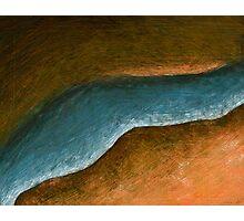 Outback Aerial Vista Photographic Print