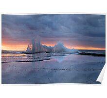 Sunrise Splash Poster