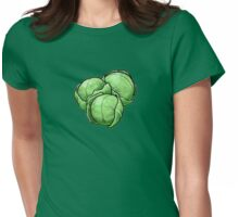 Cabbages - Always Cabbages Womens Fitted T-Shirt