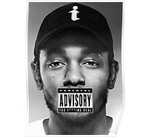 Kendrick Lamar - Too Real Poster