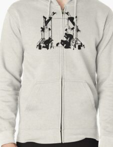 Funny Cat Pictures  Zipped Hoodie