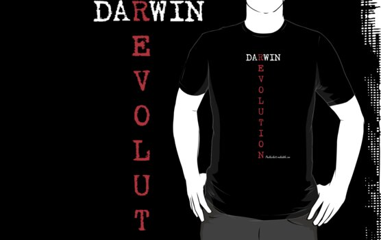 Darwin Revolution - White text by Paul Duckett
