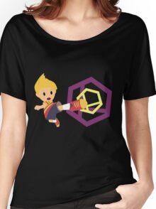 Lucas Super Smash 4 WiiU Women's Relaxed Fit T-Shirt