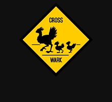 Crosswark - Chocobo Crossing - Dark Shirts Womens Fitted T-Shirt