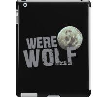 WERE WOLF werewolf with moon iPad Case/Skin