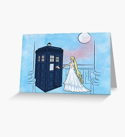 Doctor Moon Greeting Card