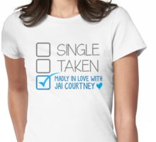SINGLE TAKEN Madly in love with Jai Courtney Womens Fitted T-Shirt