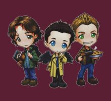 Team Free Will - Chibi Style by Julia Lichty
