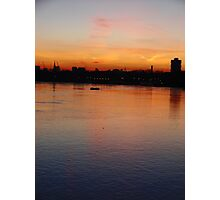 Picture Yourself in a Boat on the River Photographic Print