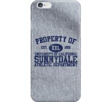 UC Sunnydale Athletic Department iPhone Case/Skin